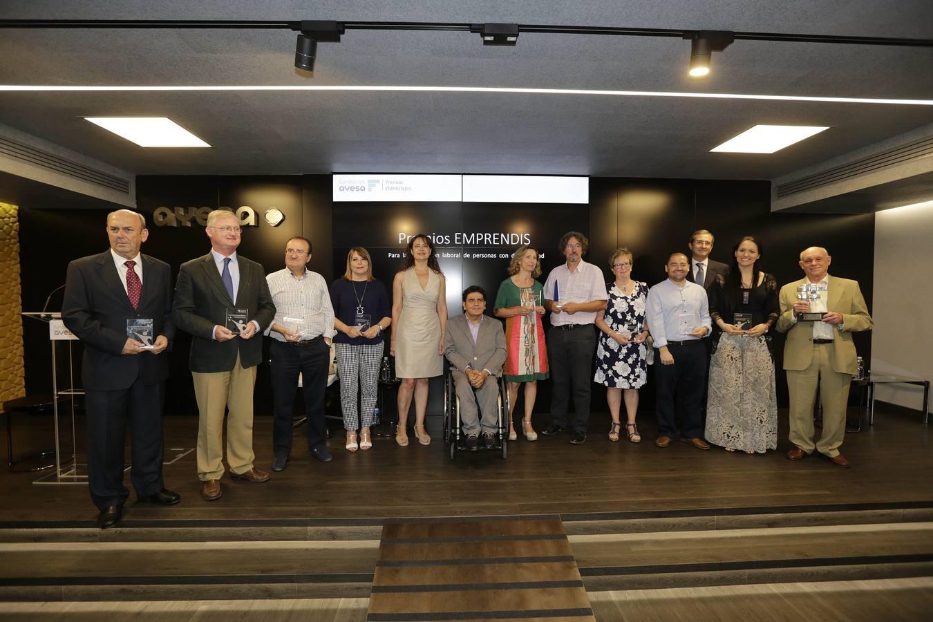 Fundación Ayesa otorga los Premios EMPRENDIS para la integración laboral de discapacitados