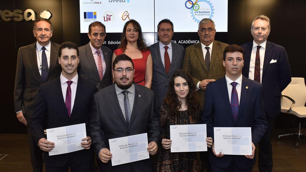 Fundación Ayesa entrega el VI Premio a la Excelencia Académica