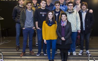 El Colegio Sagrada Familia de Urgel visita las instalaciones de Ayesa