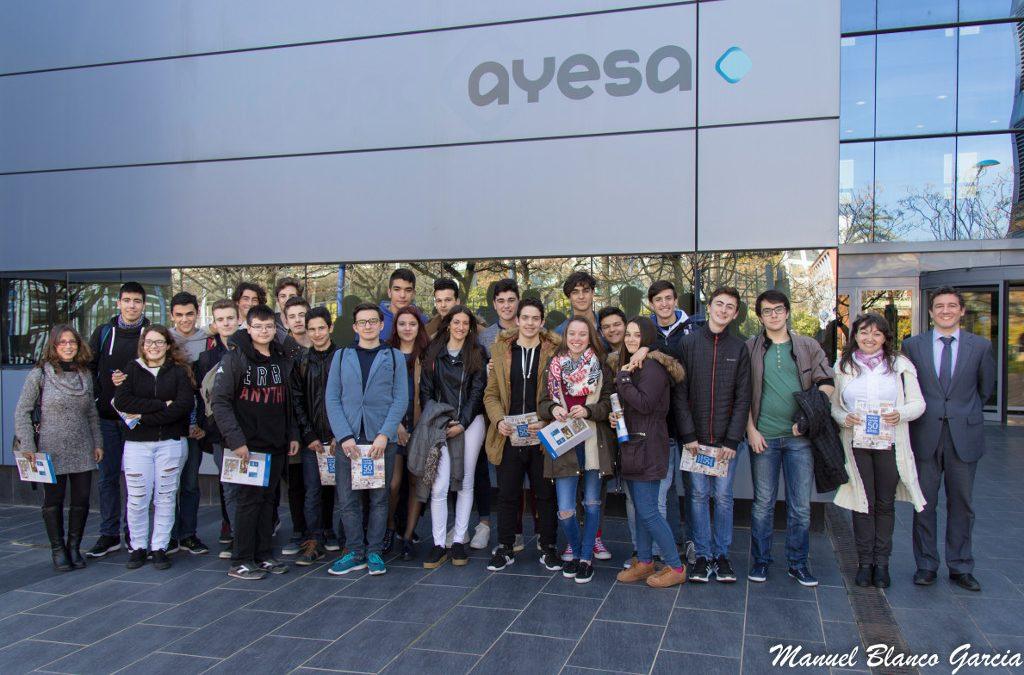 El programa #estudioSTEM recibe nuevas visitas de alumnos de bachillerato