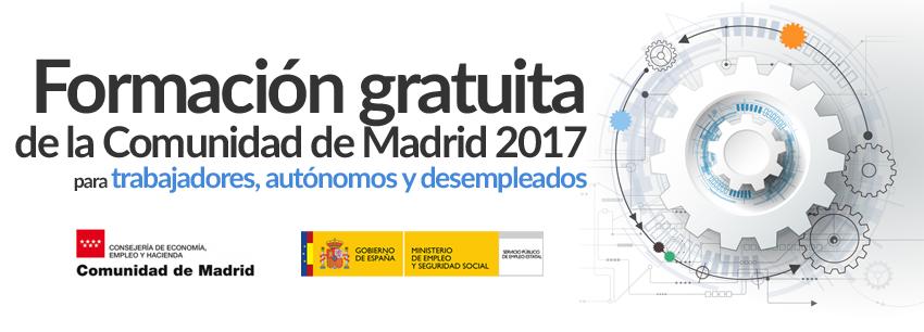 Cursos gratuitos desempleados en Madrid