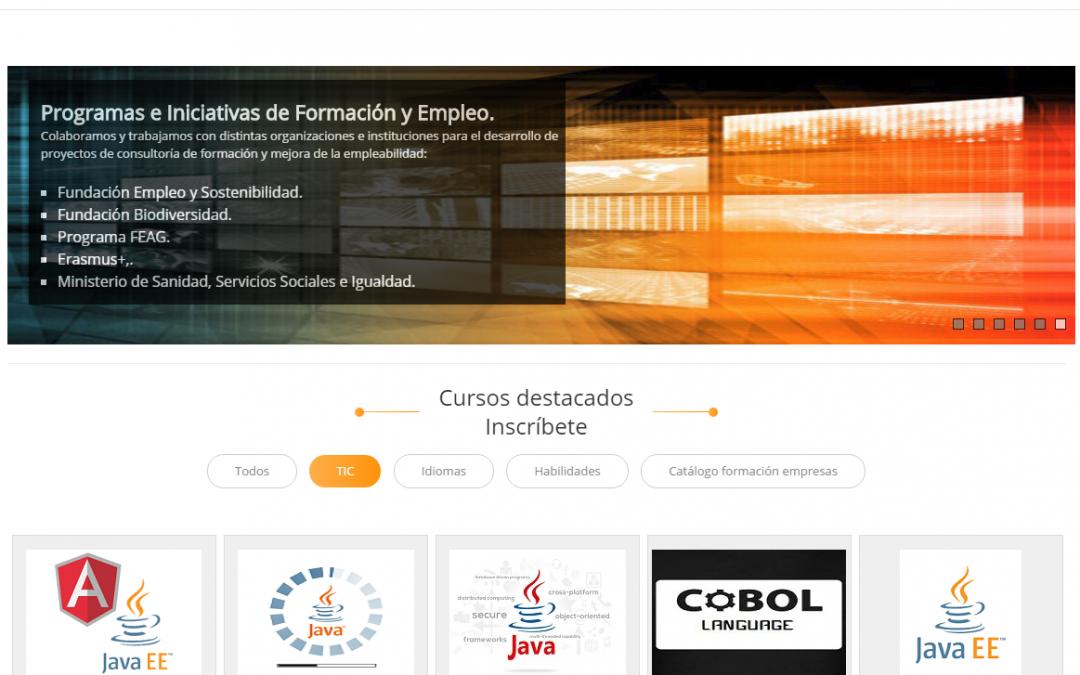 Módulos formativos de desarrollo y publicación de páginas web