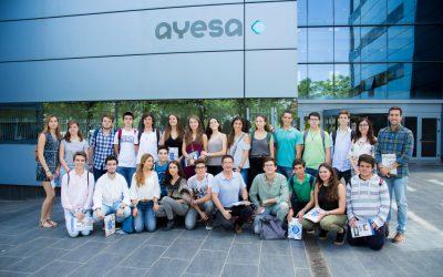 Estudiantes de bachillerato del Colegio Portaceli de Sevilla visitan Fundación Ayesa