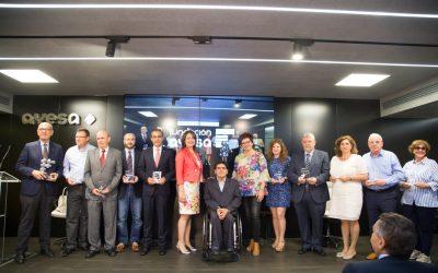 Acto de entrega de los Premios Emprendis 2017
