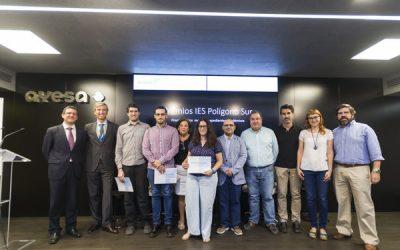 Entrega de Premios Fundación Ayesa 2017 a los mejores expedientes académicos del IES Polígono Sur
