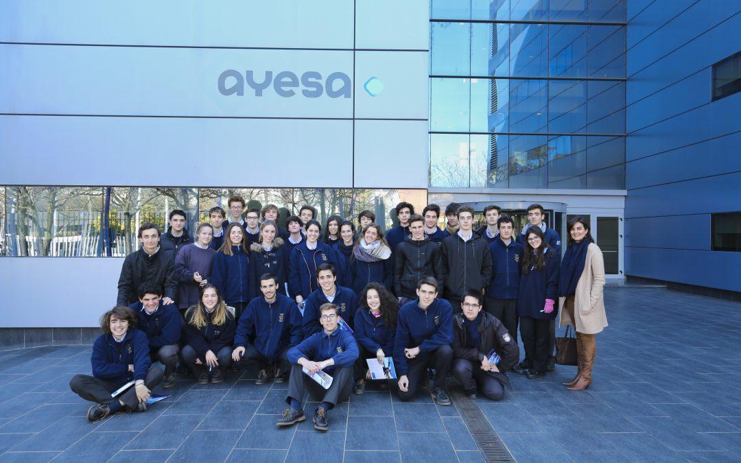 Alumnos del Colegio EUROPA nos visitan en un nuevo STEM Day