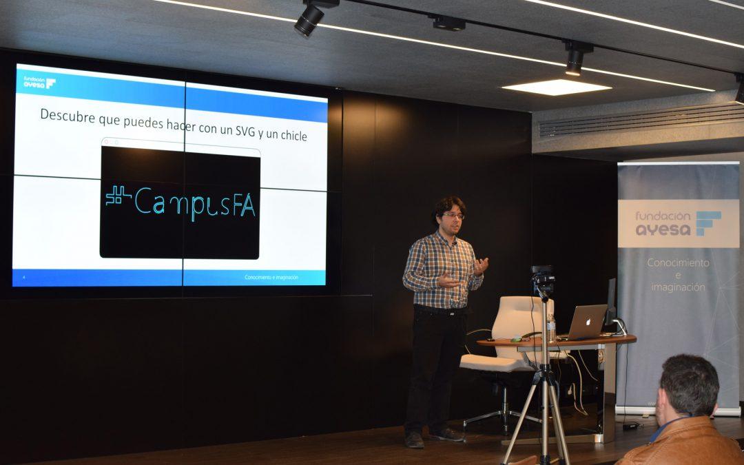 #campusFA habla sobre imágenes vectoriales en su tercer evento