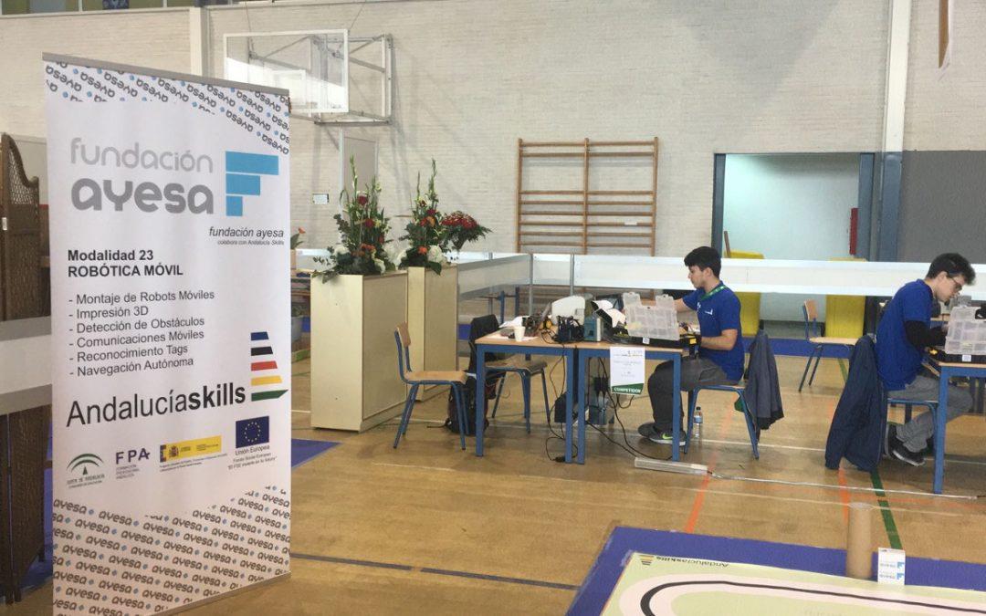 Fundación Ayesa presente en Andalucía Skills 2018