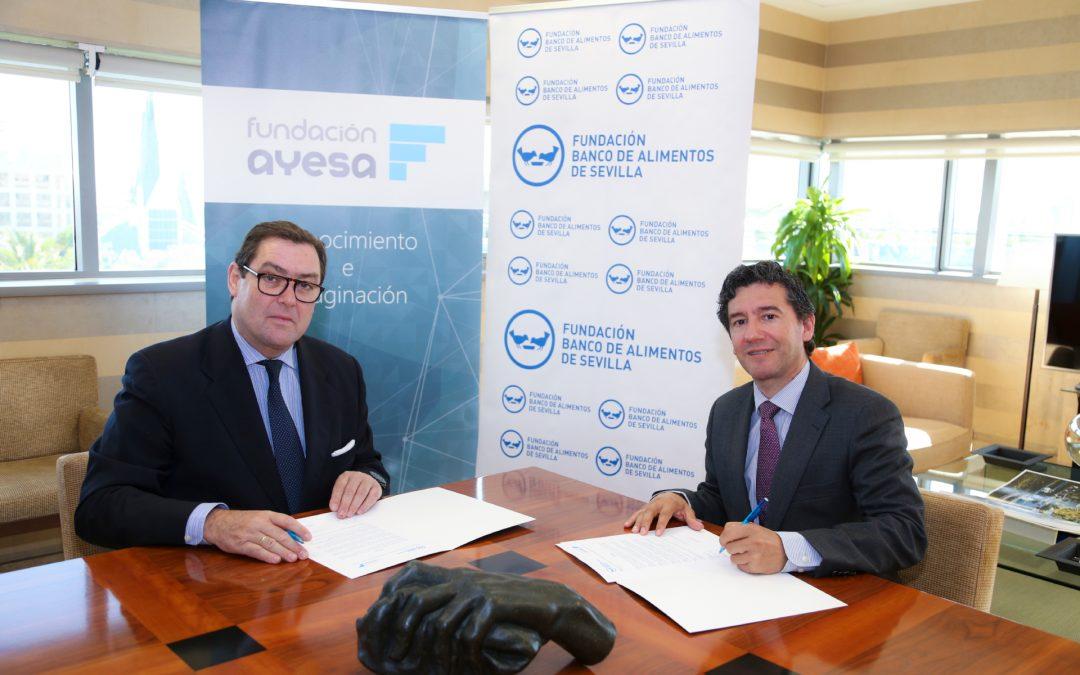 Convenio entre Fundación Ayesa y el Banco de Alimentos de Sevilla