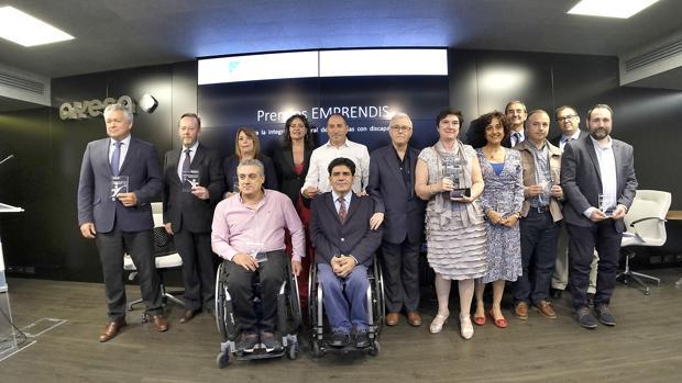 Entrega de 50.000 euros en los Premios Emprendis