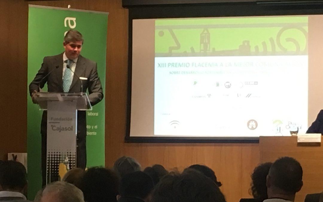 Fundación Ayesa en la entrega de los Premios Flacema de Comunicación