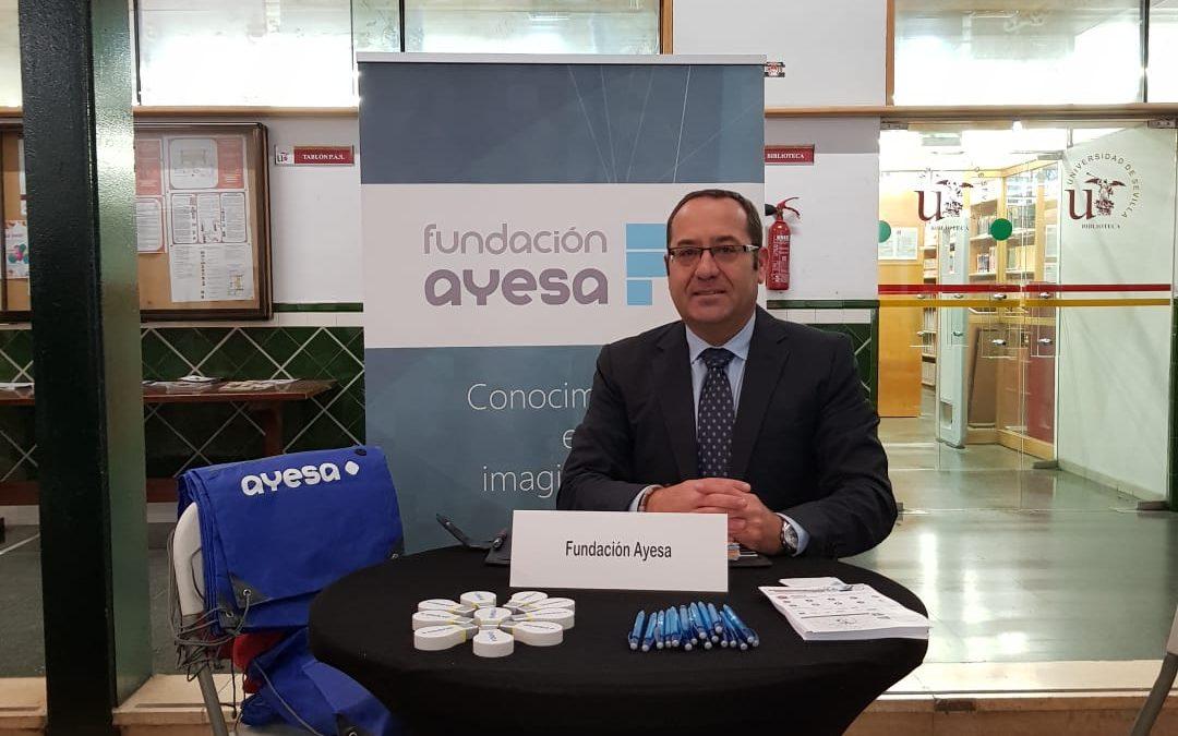Fundación Ayesa presente en la V Jornada ¡Atrévete a Emprender!