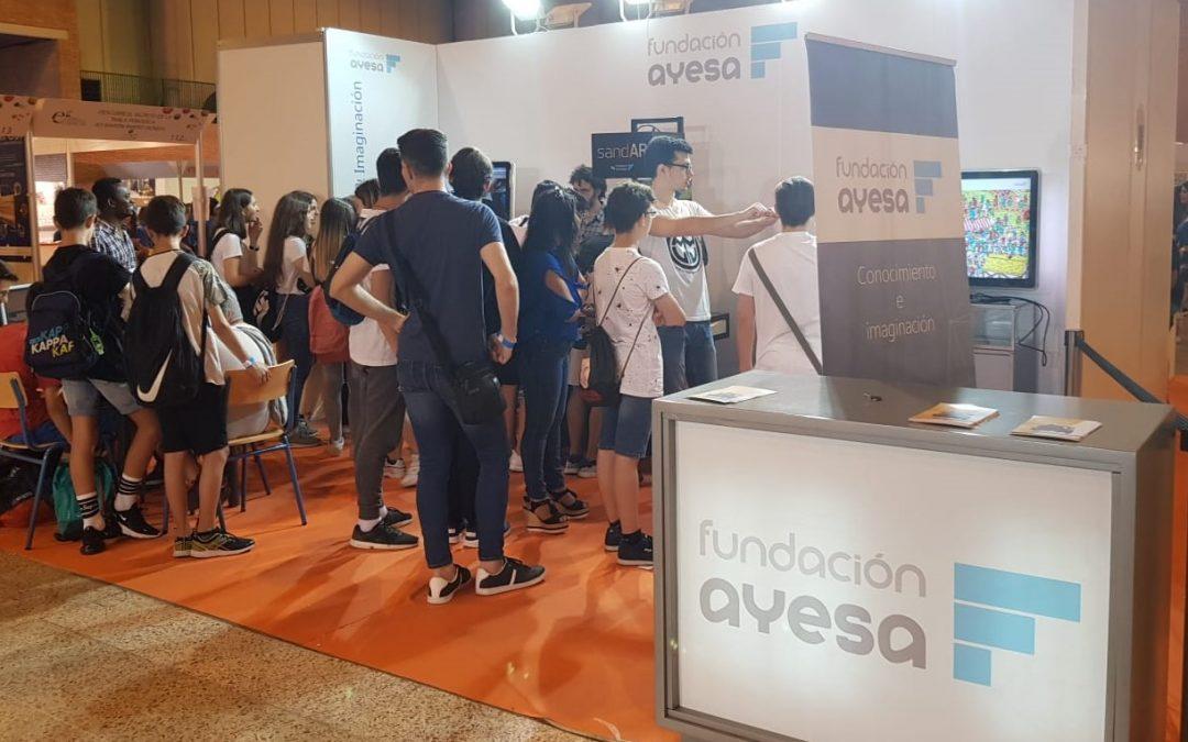 Fundación Ayesa en la Feria de las Ciencias 2019