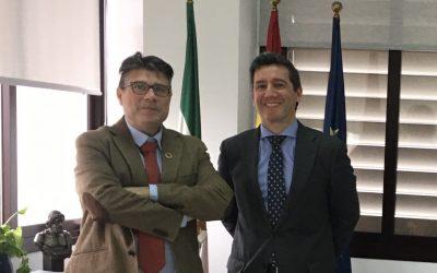 Reunión con el Director General de Asuntos Sociales de la Junta de Andalucía