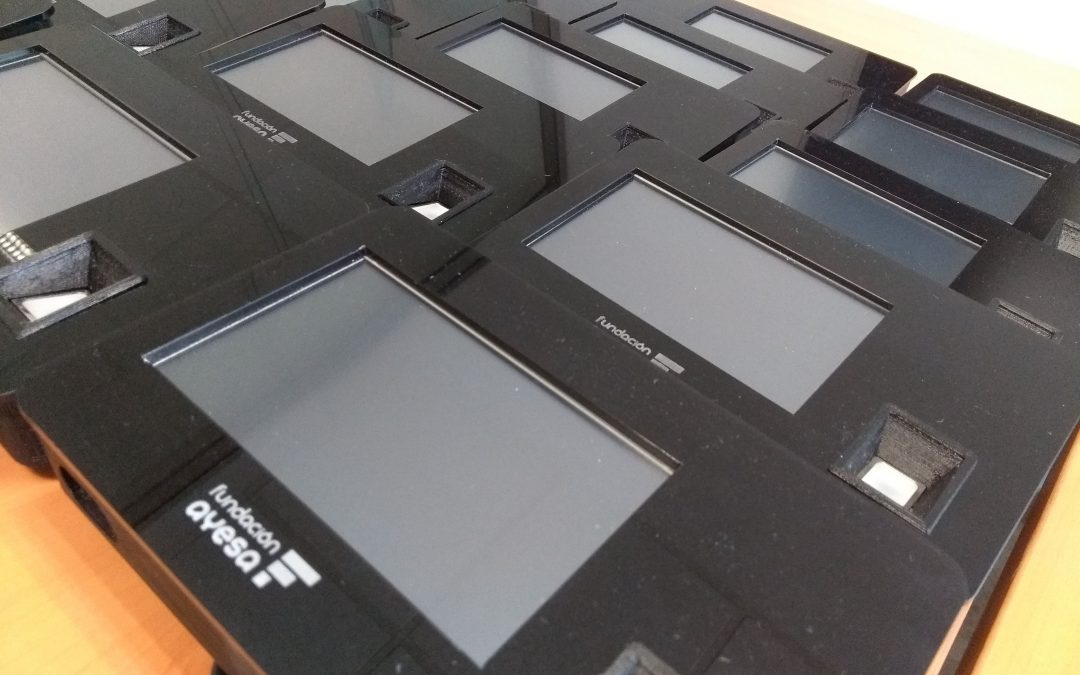 Entrega de 20 dispositivos biométricos a la Organización ASANSULL