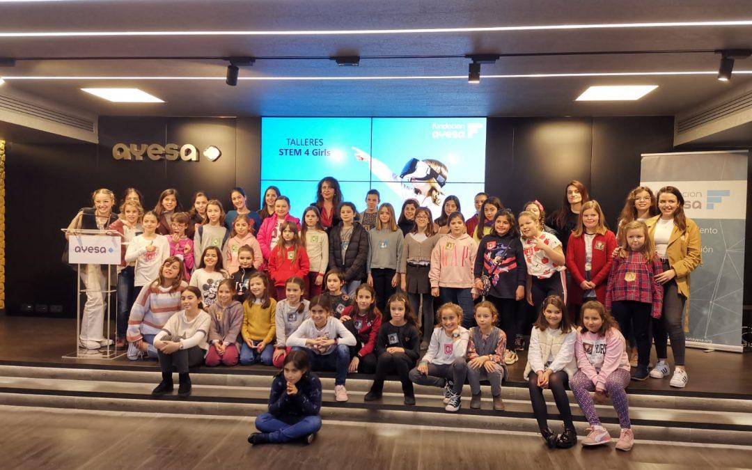 Fundación Ayesa promueve las vocaciones STEM en niñas para combatir la brecha de género