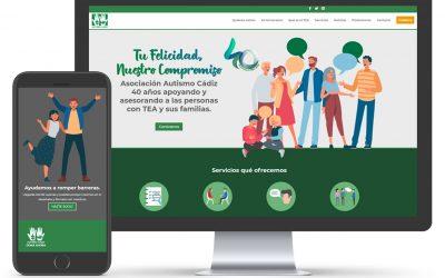 Diseño y desarrollo de la nueva Web de la Asociación Autismo Cádiz