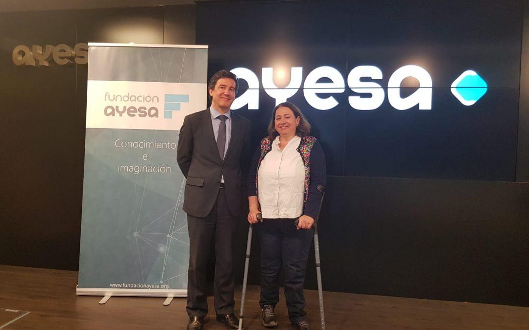 Fundación Ayesa dona dos equipos informáticos a FEJIDIF