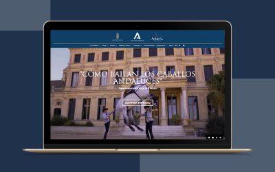 Diseño de la nueva web de la Real Escuela Andaluza del Arte Ecuestre