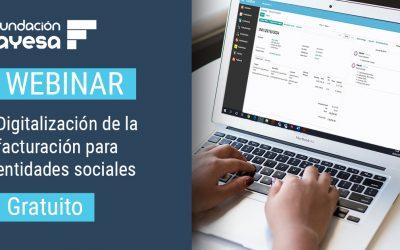 Webinar: Digitalización de la facturación para entidades sociales