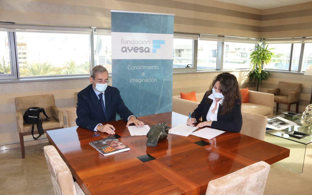 Renovación del Convenio de colaboración entre Fundación Ayesa y Proyecto Hombre