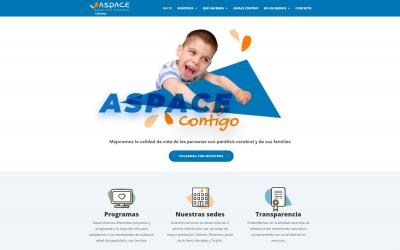 Fundación Ayesa ha desarrollado la nueva web corporativa de Aspace Cáceres