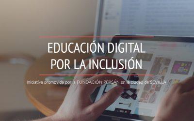 Colaboración en el Programa Educación Digital por la Inclusión de Fundación Persán