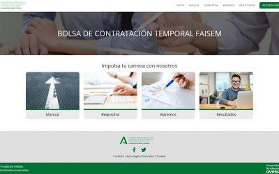 Fundación Ayesa desarrolla el sistema que gestiona la bolsa de empleo temporal de FAISEM