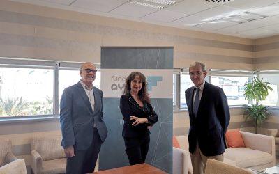 Firma del acuerdo de colaboración entre Proyecto Hombre y Fundación Ayesa